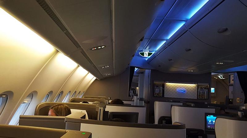 British Airways Business Class 32