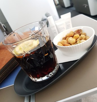 British Airways Business Class 5