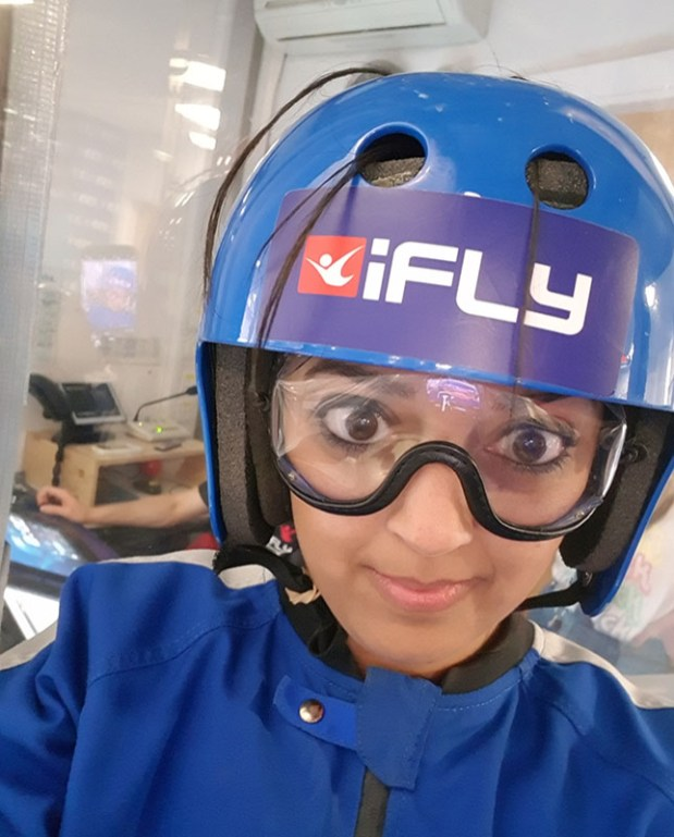 iFly indoor skydiving manchester 20