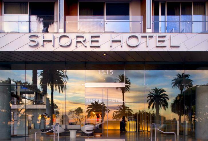 the shore hotel the jetset family. Black Bedroom Furniture Sets. Home Design Ideas