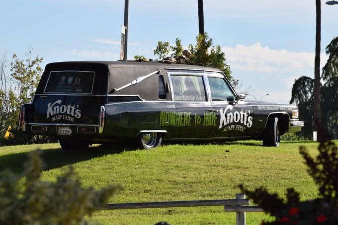 Knott's Scary Farms Hearse