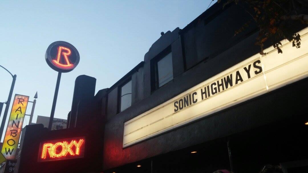 Foo Fighters Roxy Secret Show Sonic Highways 11-14-14