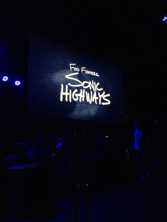 Foo Fighters secret show Roxy 11-14-14