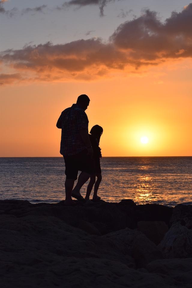 Disney Aulani Sunset Hawaii
