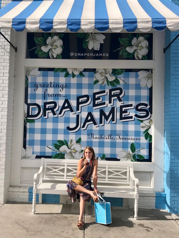 Shopping at Draper James Nashville, TN