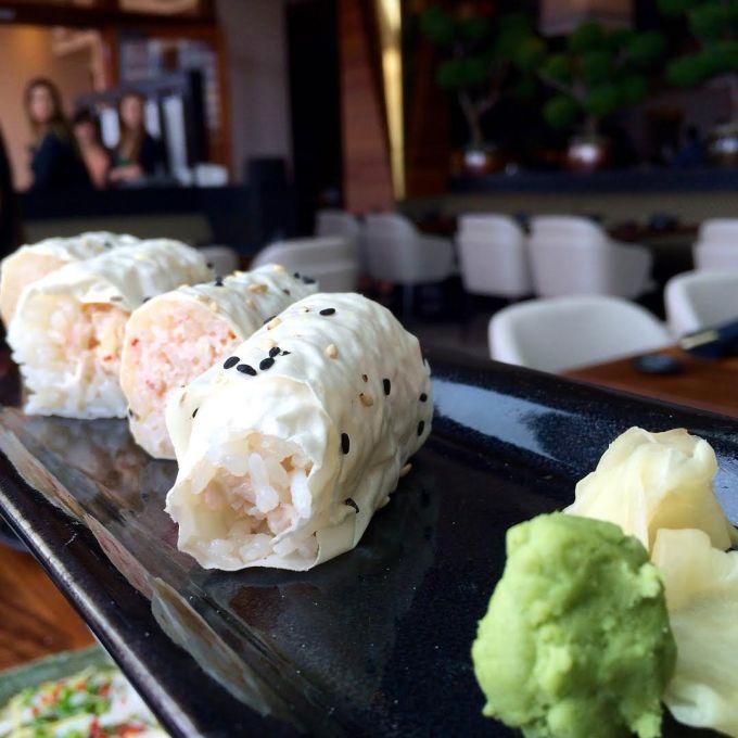Sushi Roku Baked Crab Roll