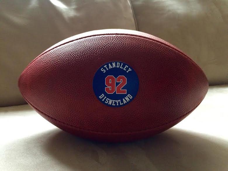 Wilson Custom Football