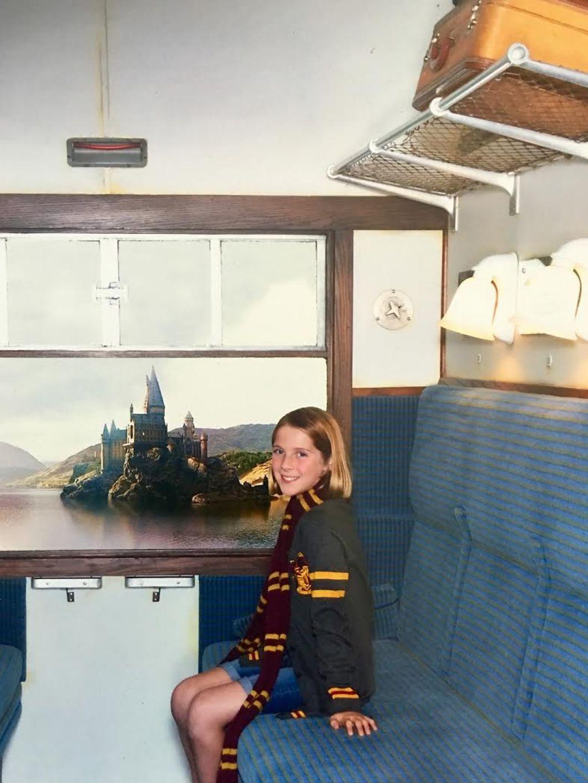 Riding on Hogwarts Express | The JetSet Family