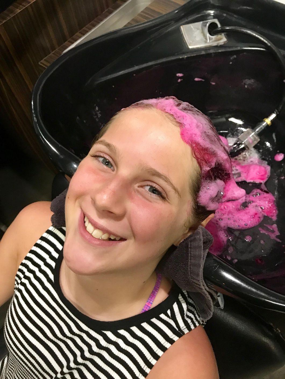 temporary hair dye for kids