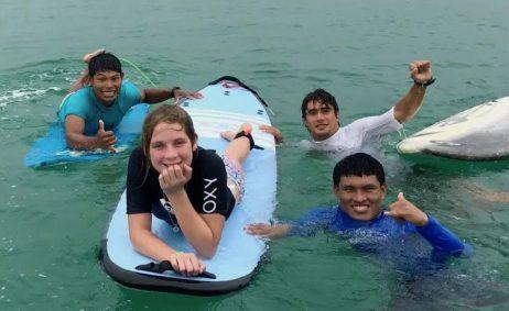 Surfing In Bocas del Toro Panama