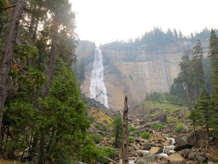 Anton Yosemite waterfall