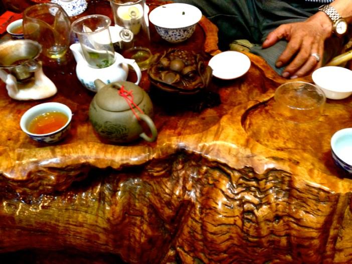 Guangzhou China tea shop