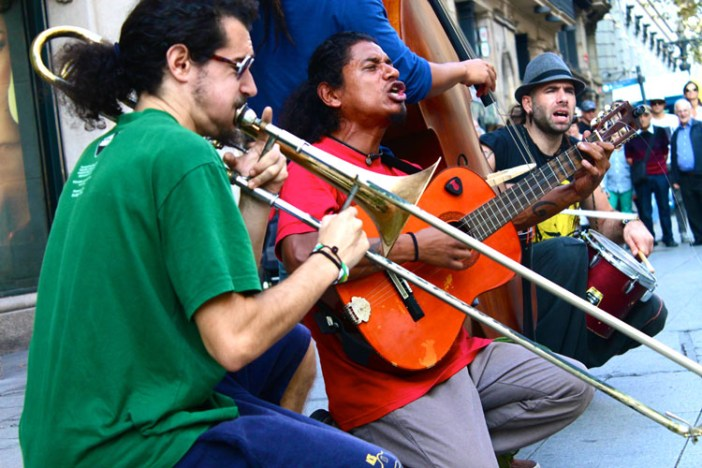 barcelona spain accordian 2