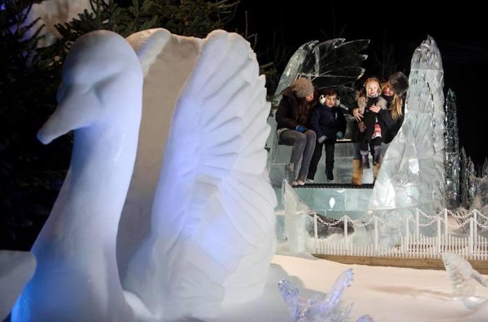 london england hyde park christmas winter holiday 2