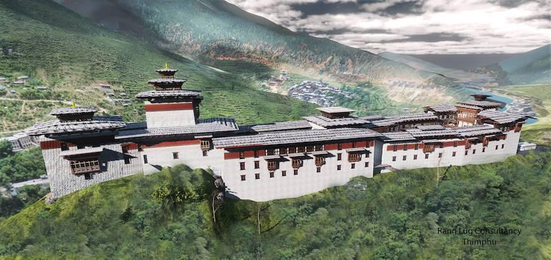 Wangdue Phodrang Dzong Reconstruction Project
