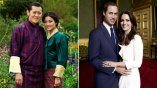 1. Often called the Will and Kate of the Himalayas, King Jigme Khesar Namgyel Wangchuck and Queen Jetsun Pema make a striking couple.