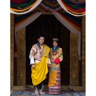 11. They were married in October 2011 at the Punakha Dzong. The royal wedding was Bhutan's largest media event in history.