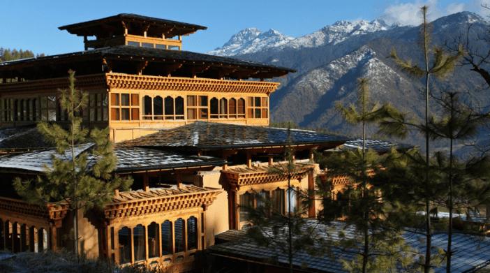 nik-sel boutique hotel paro bhutan