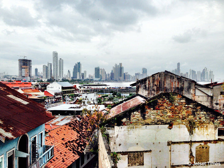 Old vs. New in Panama City