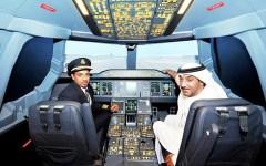 Emirates Air Dubai Mall aviation 3