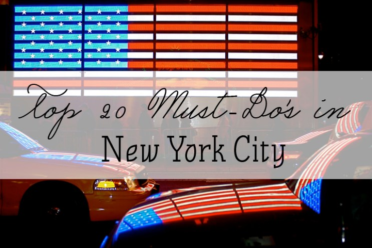 featured NYC must-do