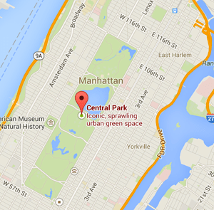 map central park nyc