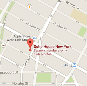 map soho house nyc