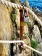 Leave your mark on the way to the Cinque Terre cliff