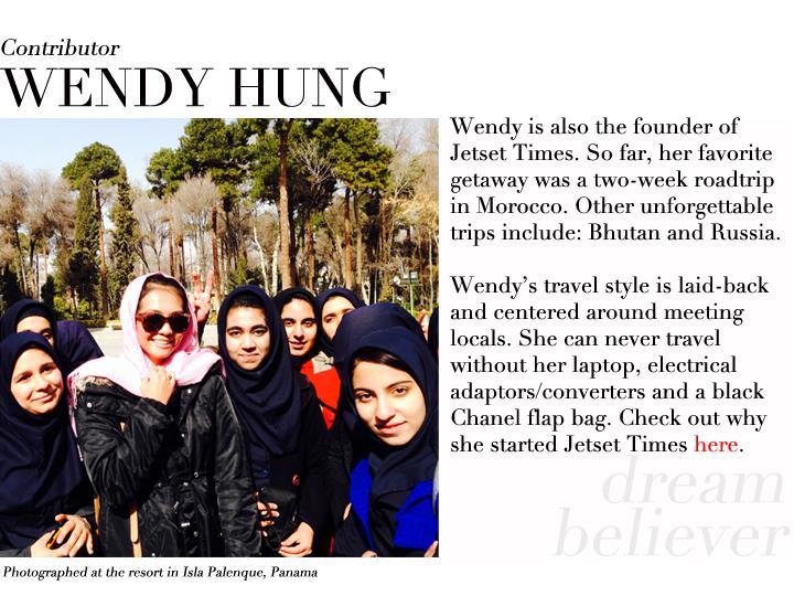 Wendy Hung contributor profile Iran