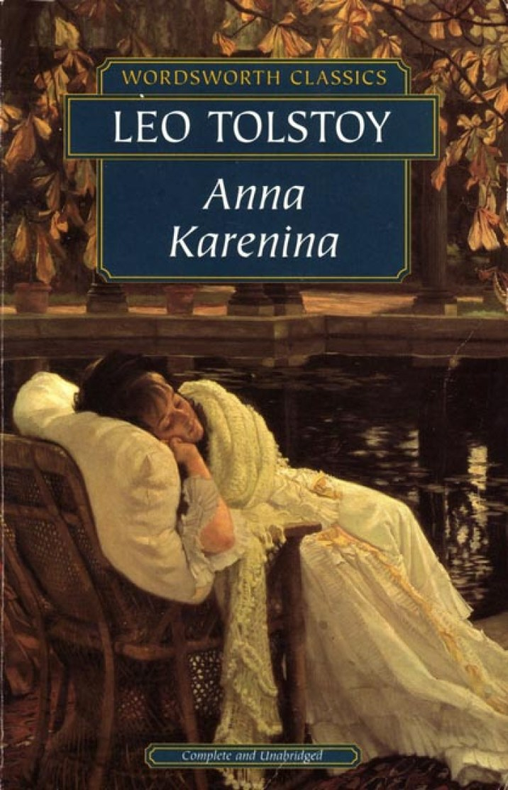 Anna Karenina – Leo Tolstoy book cover
