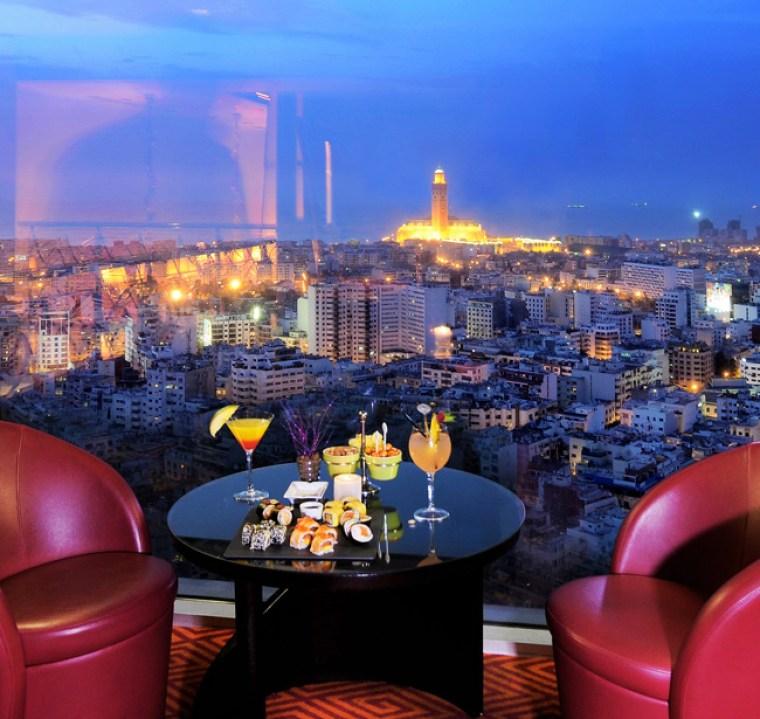 Sky 28 Bar Casablanca Morocco