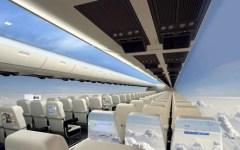 CPI windowless flight interior