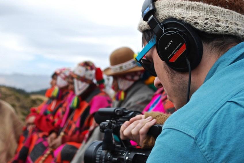 Travel Song Peru documentary shooting