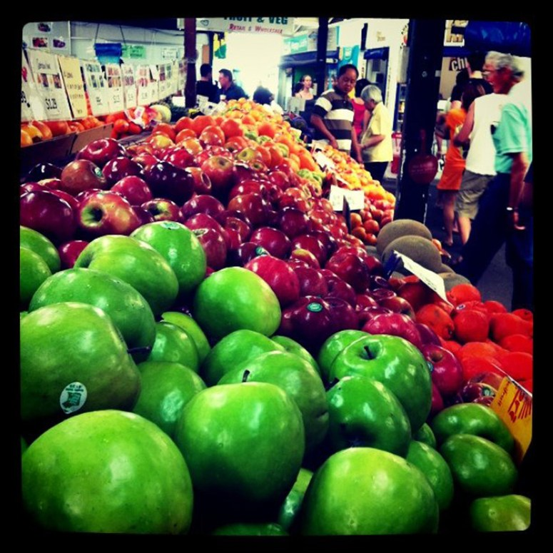Subiaco Market - Fruit Stands