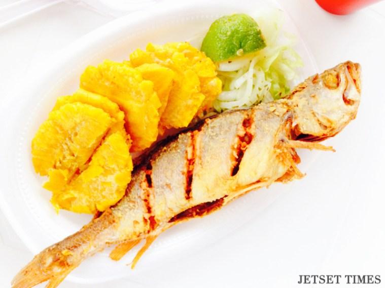 Carpe Diem diet fried fish panama
