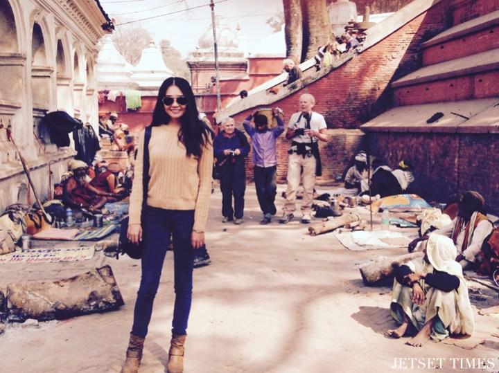 Wendy Kathmandu Nepal temple