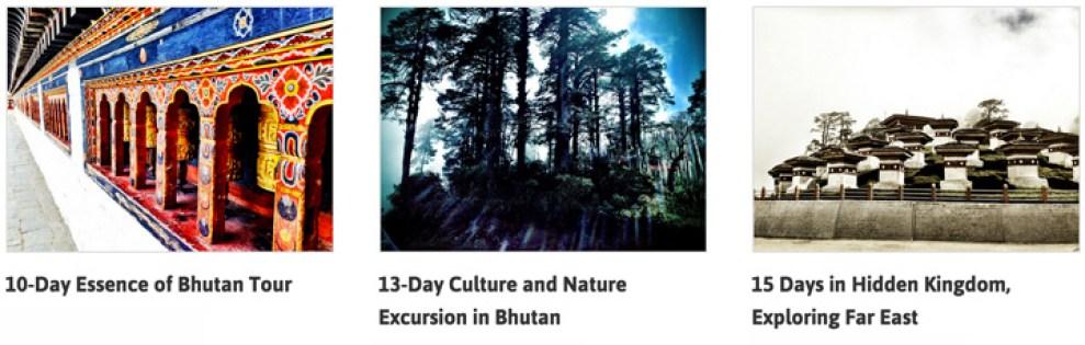 Bhutan Tours SHOP JST.com