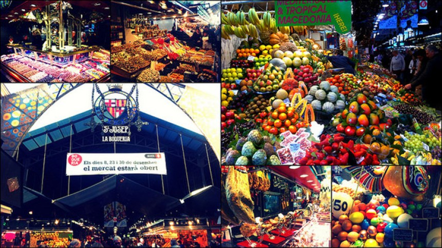 Flickr friedwater La Boqueria Barcelona