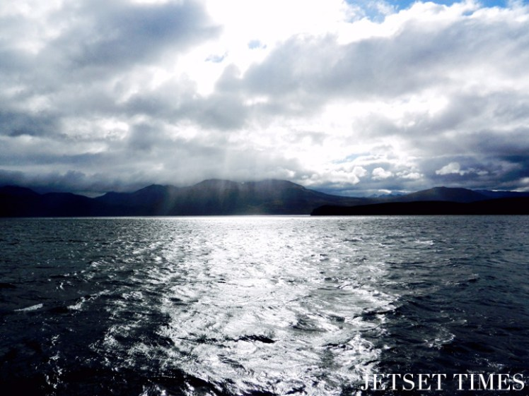 2 Gray clouds and morning light Puerto Toro Chile