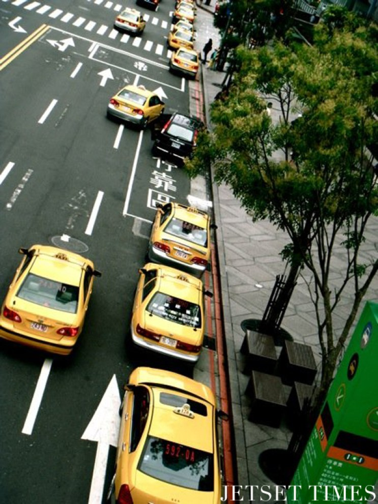 Taipei taxi cab