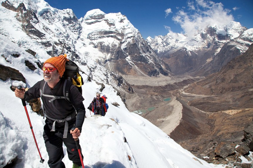 World's HIghest Gig climb Mt Everest