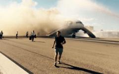 British airway fire vegas airport