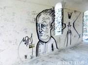Graffiti along Via dell'Amore