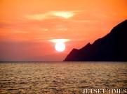 Sunset 'droplet'