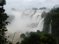 One of many incredible views of Iguazú Falls from Circuito Superior (Upper Circuit)