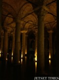 15. The Basilica Cistern used to have an underground garden with water from the Belgrade Forest.