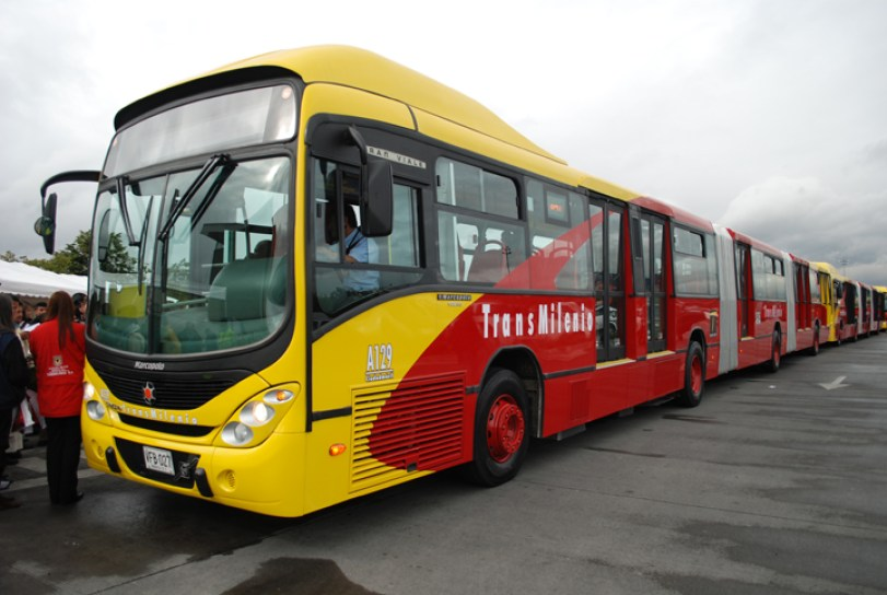 9 Transmilenio bus