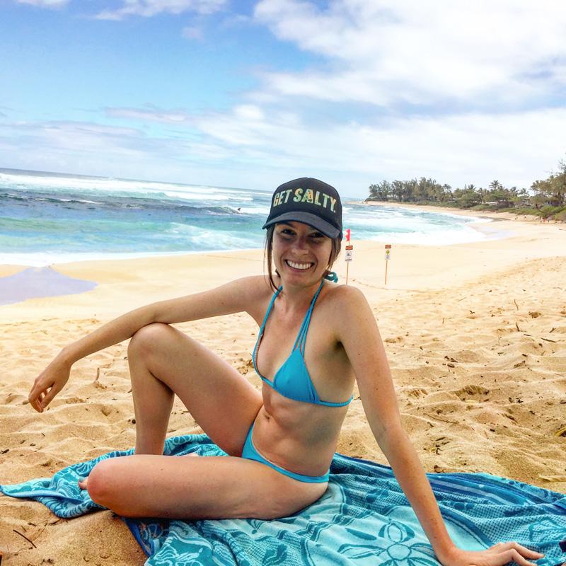 Alex Oahu beach