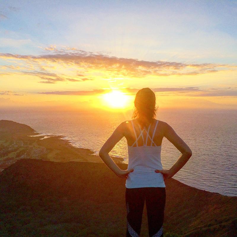 Alex Oahu sunrise
