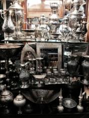 Souvenirs at the bazaar.